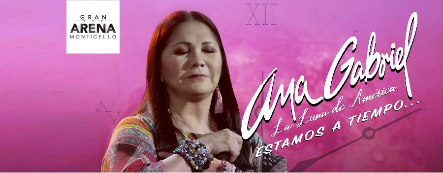 Ana Gabriel - Estamos a Tiempo Tour